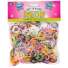 Loom Band Refill Pack - Neon